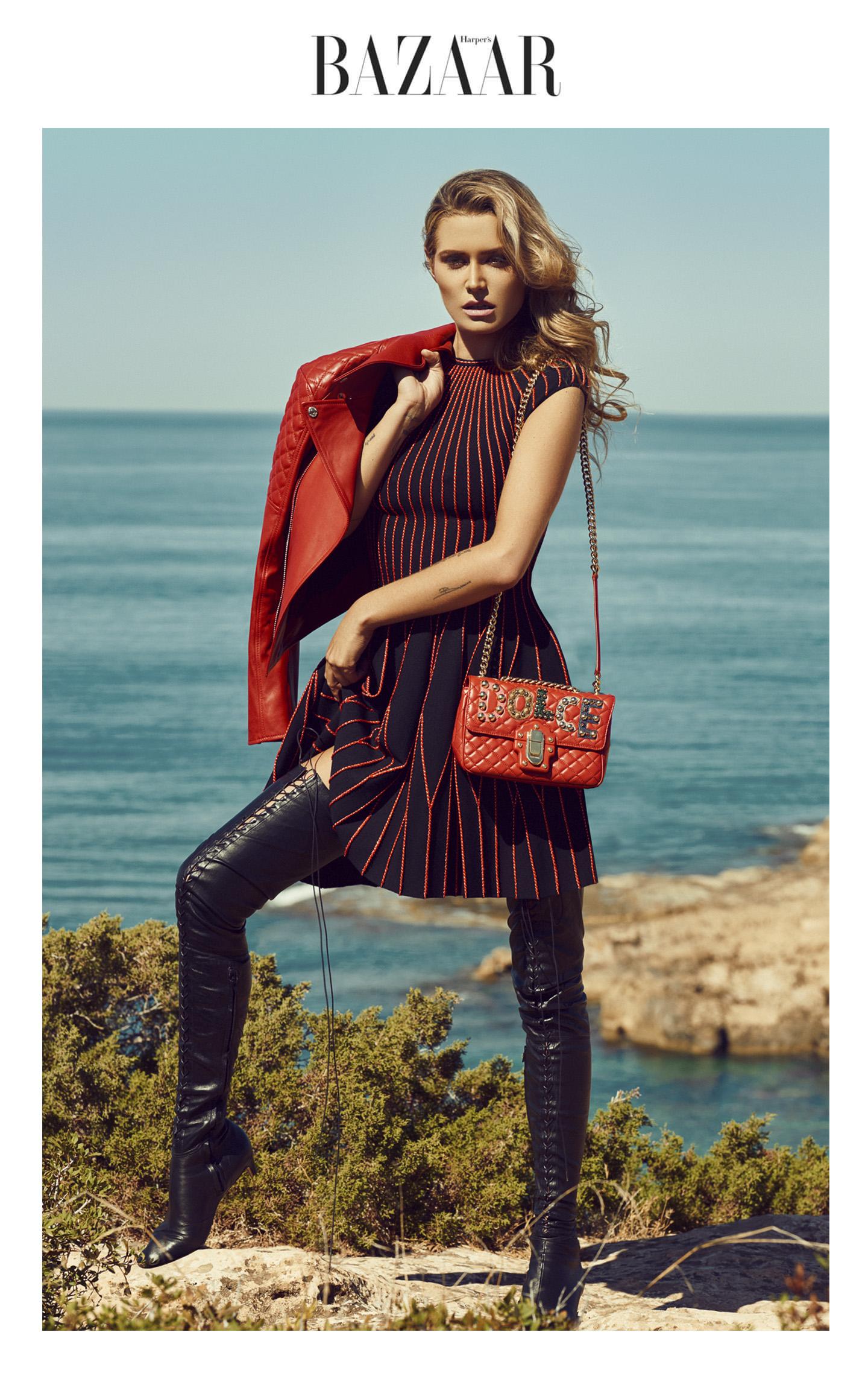 Cheyenne Tozzi by Stefan Imielski for Harper's Bazaar
