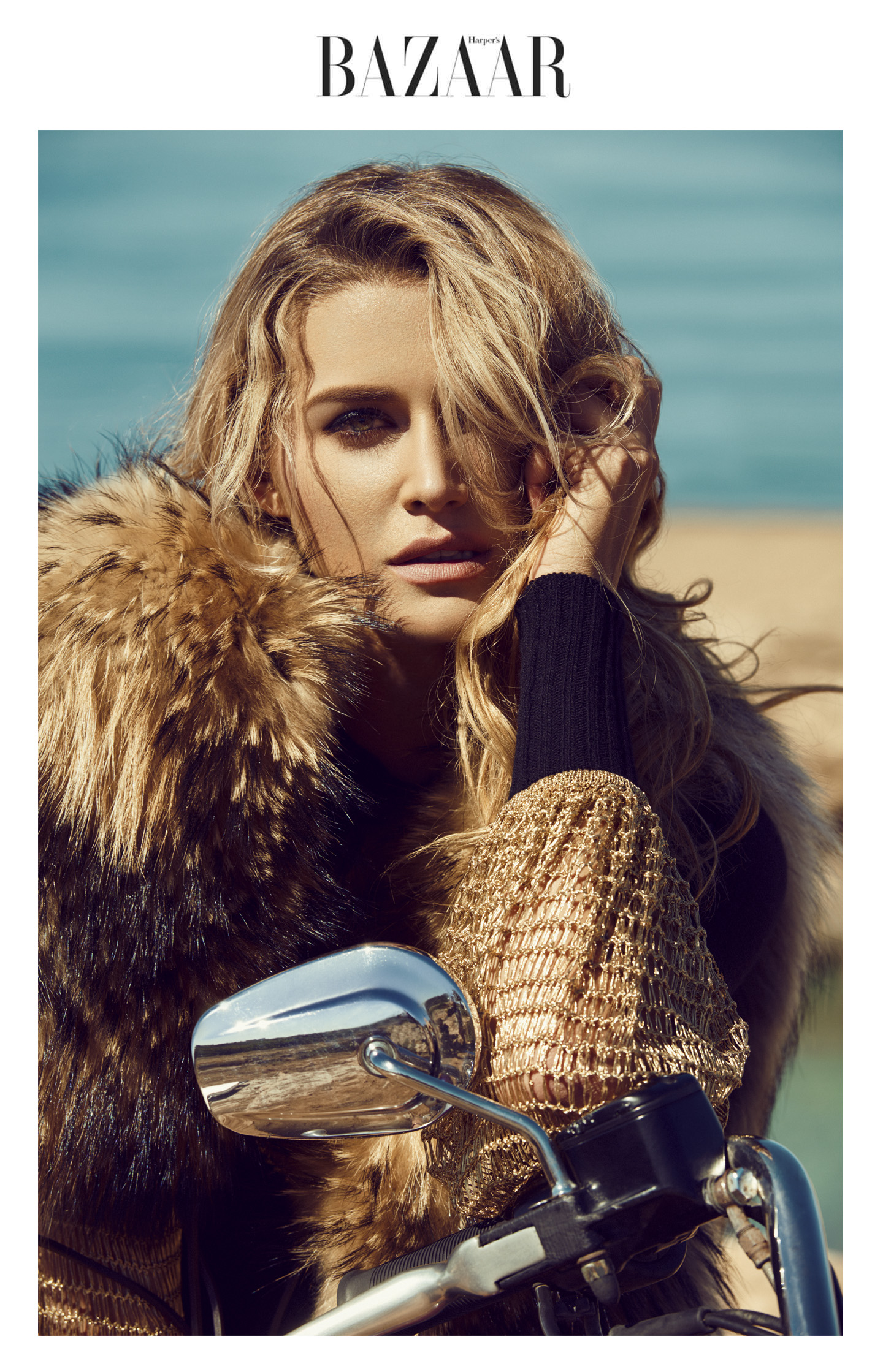 Cheyenne Tozzi by Stefan Imielski for Harper's Bazaar photography