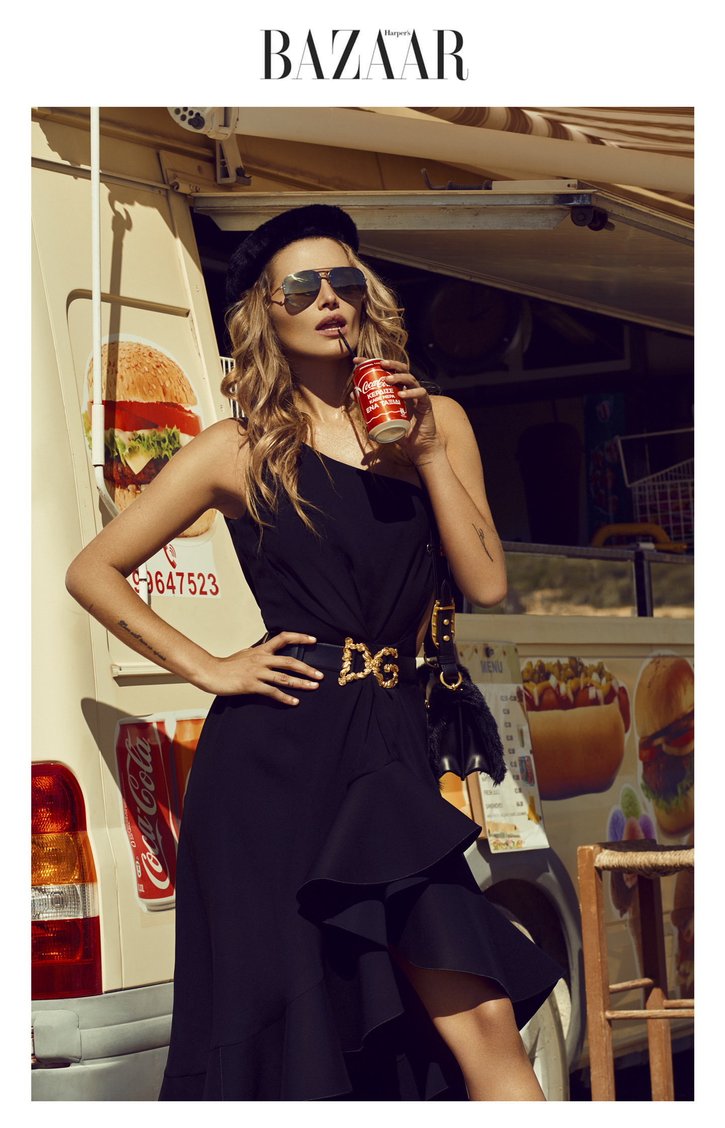 fashion editorial Cheyenne Tozzi by Stefan Imielski for Harper's Bazaar
