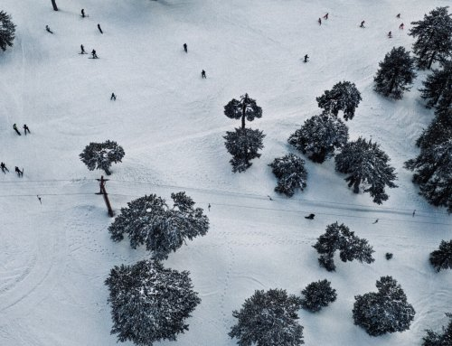 You can shoot Snow in Cyprus as well – Fresh Aerial photos