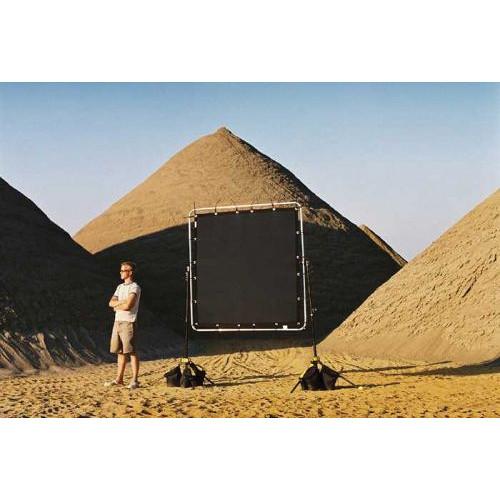 Sunbounce Sun-Scrim Black Polyester Screen (6 x 8) 180x240cm 180x180cm