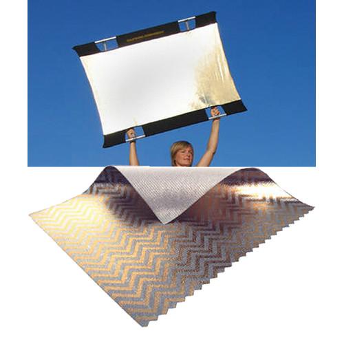 Sunbounce Mini Sun-Bounce Kit - Zebra/White Screen (3x4)90x120cm