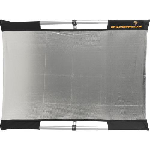 Sunbounce Micro Mini Sun-Bounce Kit - Silver/White Screen (2x3) 60x90cm