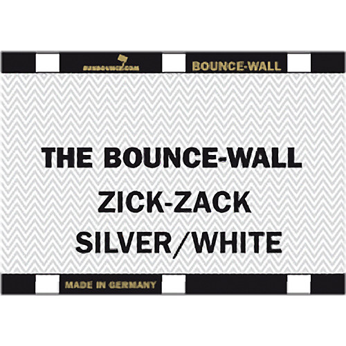 Sunbounce BOUNCE-WALL (Zig-Zag Silver/White)