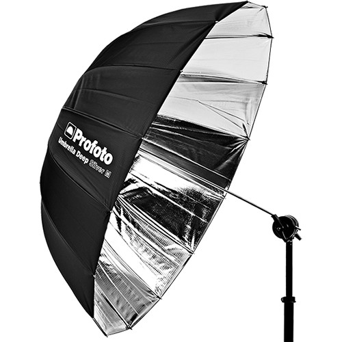"Profoto Deep Medium Umbrella 105 cm (41"", Silver)"